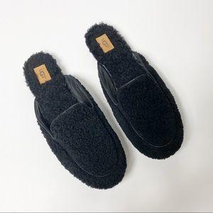 UGG Lane Fluff Genuine Shearling Loafer Slippers